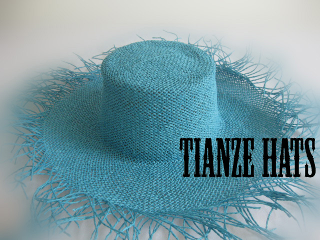 Blue Twist Paper Hat Body