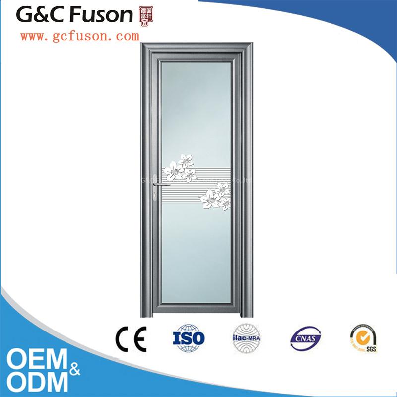 High Quality Aluminum Double Glass Casement Door Factory