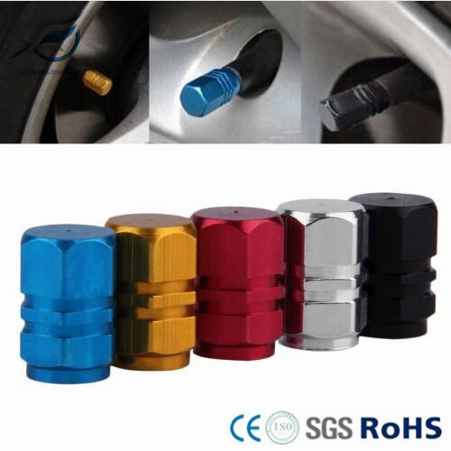 Car Wheel Tires Valves Tyre Stem Air Caps Airtight Cover