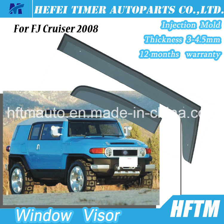 PC Material Window Visor for Toyota Fj Cruiser