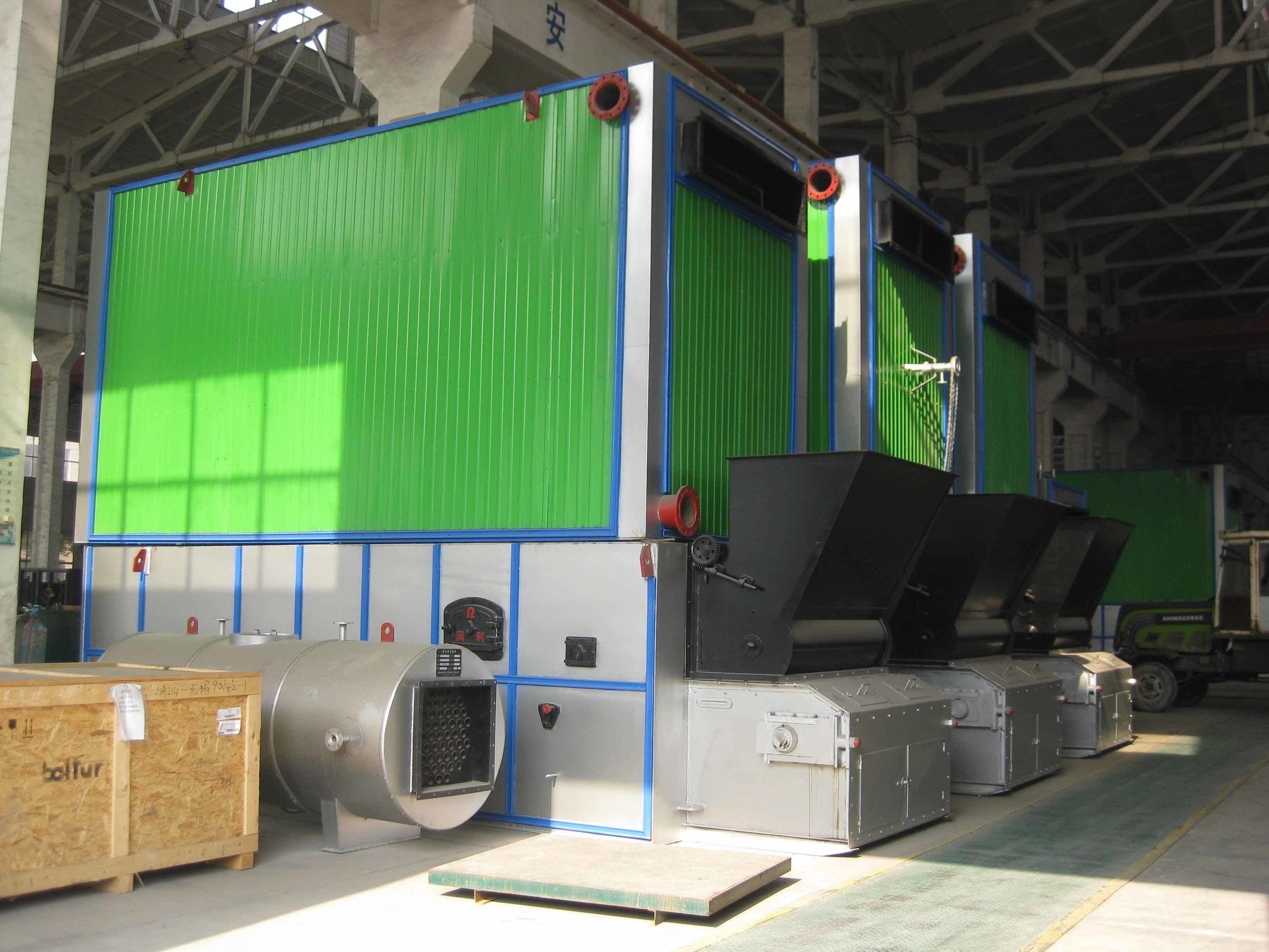 Chain Grate Thermal Oil Boiler with Coal-Fired or Biamass-Fired