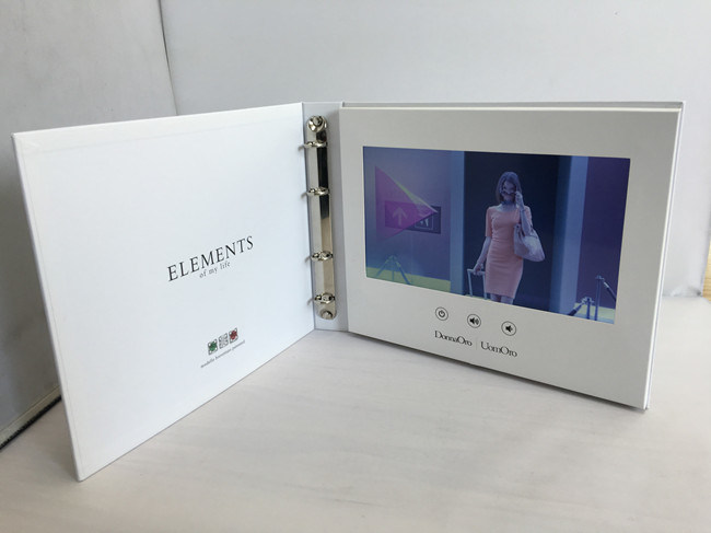 Video Screen LCD Video Folder in Artificial Crafts