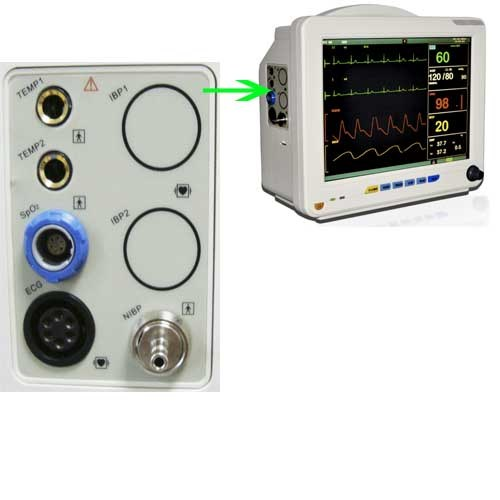 12-Inch 6-Parameter Patient Monitor (RPM-9000A) -Fanny