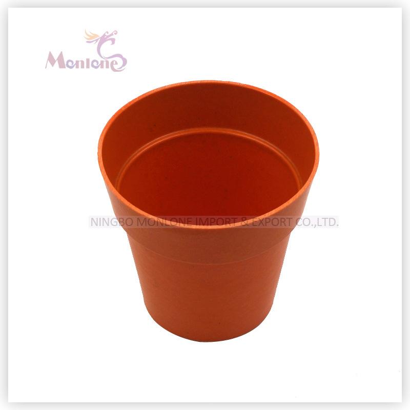 Organic Bamboo Flower Pot for Garden Decoration