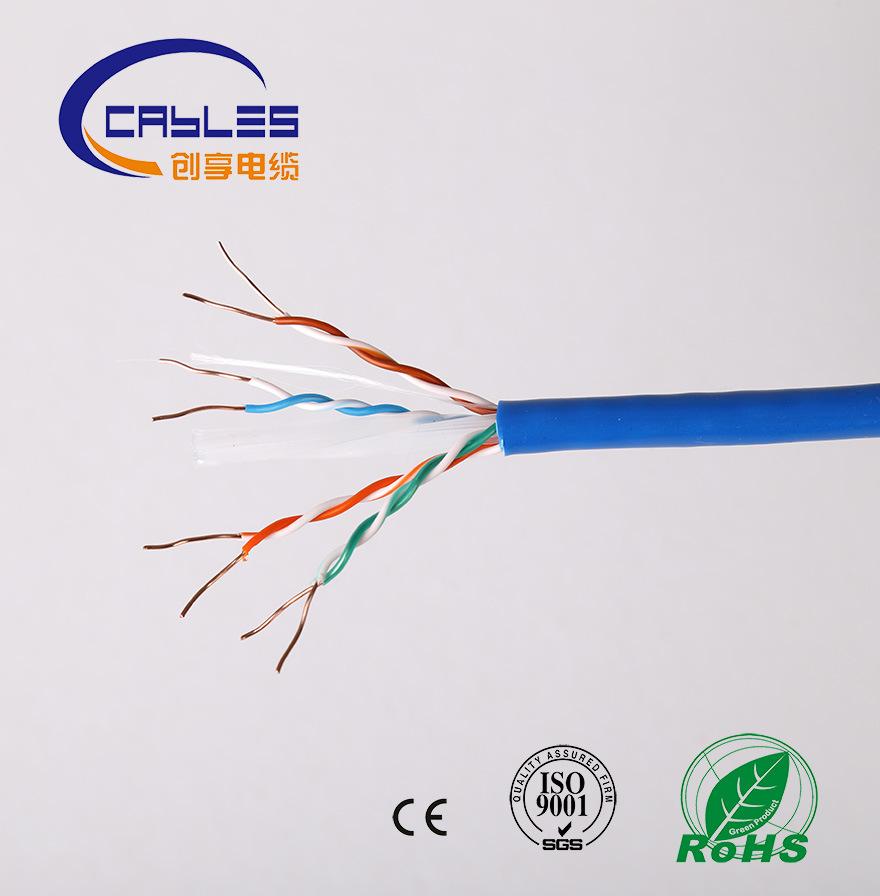 Hot Sale Fluke Test CAT6A CAT6 Cat5e Cat5 UTP/FTP/SFTP LAN Cable
