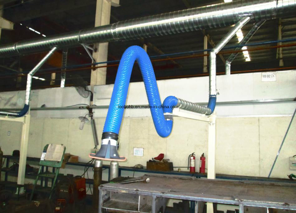 Loobo Flexible Extraction Arm for Welding Grinding Dust Collection System