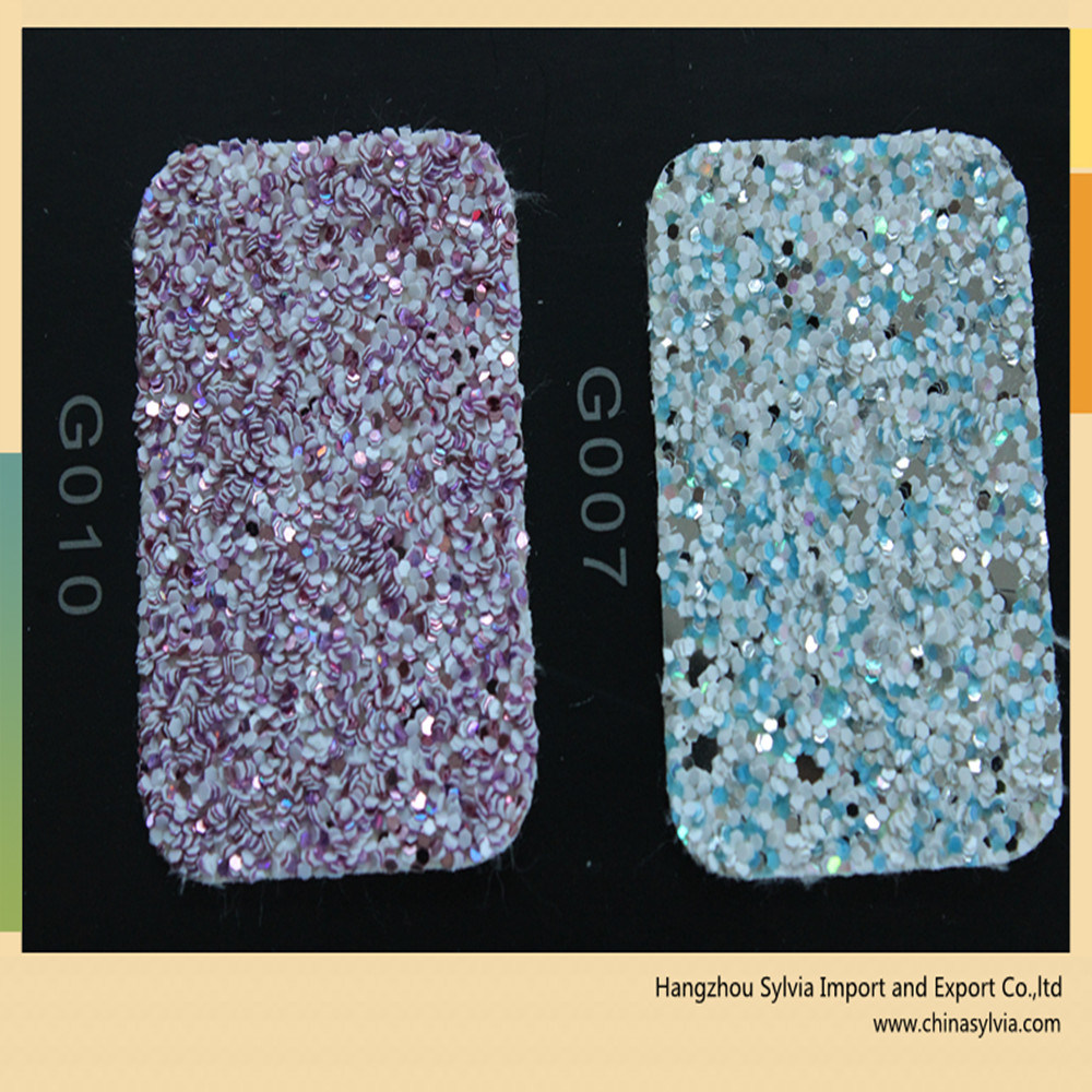 Shoe Upper Decorative Material Glitter
