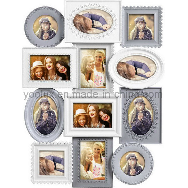 Plastic Multi Openning Picture Photo Collage Frame