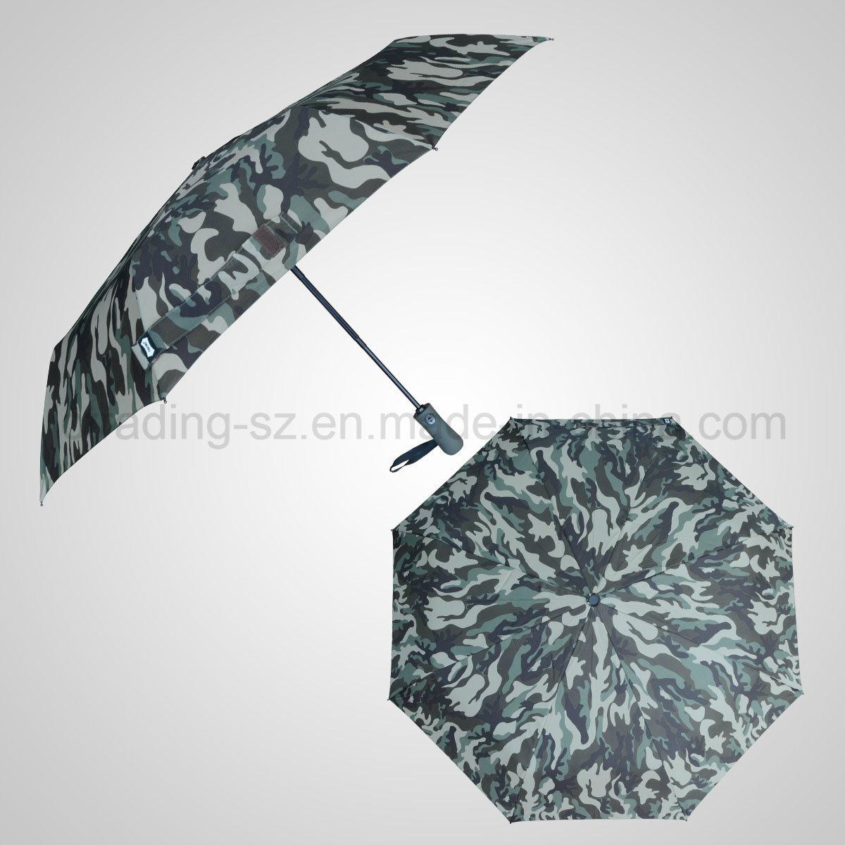 3 Folding Automatic Open&Close Storm Golf Umbrella Rain/Sun Umbrella (JF-AGF309)