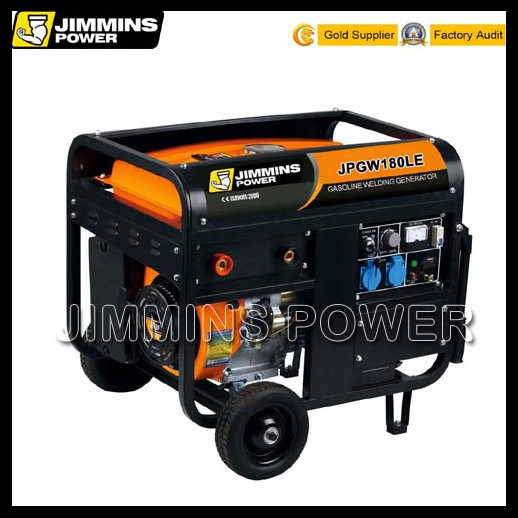 40--300A Electrode 1.2-6.0 Portable Gasoline Generator and Welders Machine Price (double use equipment)