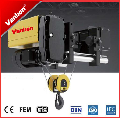 Vanbon 2ton Single Gider Wire Rope Hoist