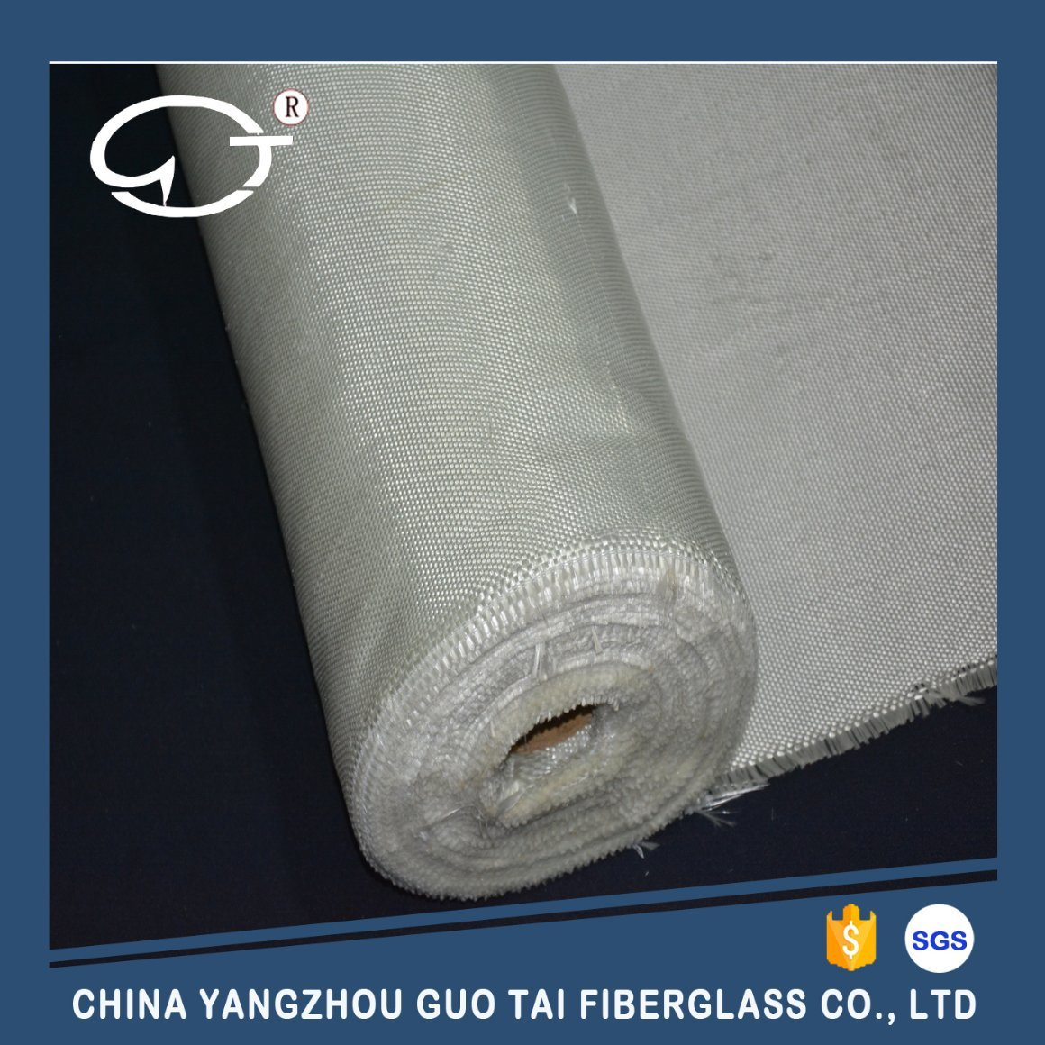 Fiberglass Cloth with Texturized Yarn in Weft