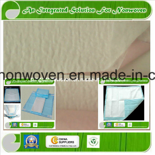 Nonwvoen Fabric of High Water Absorbability Airlaid Paper