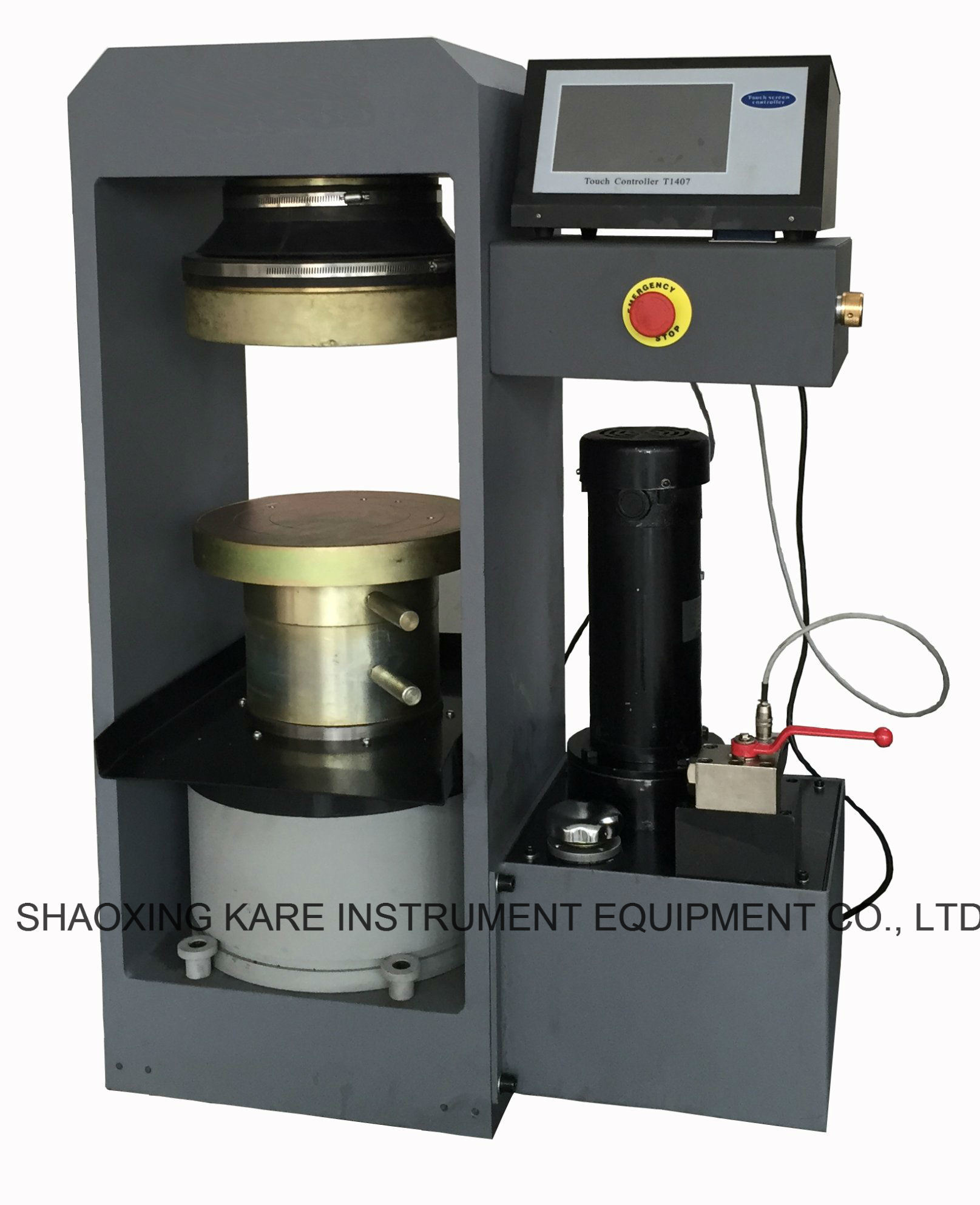 LCD Display Concrete Compression Testing Machine (CXYE-2000S)