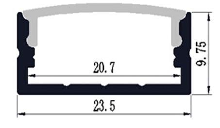 LED Tape Extrusions & Aluminium Profiles