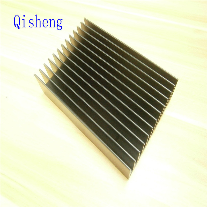 Heat Sink, Black Anodized, Customized