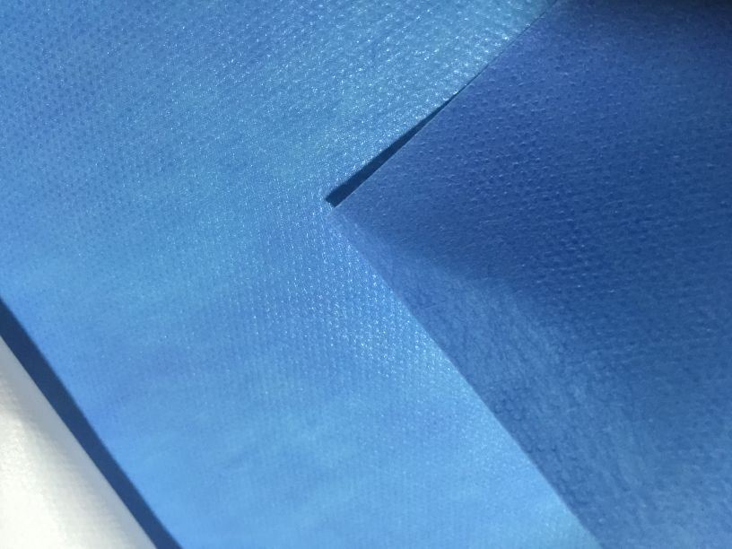 SMS PP Spunbond Non Woven Fabric Material Coated PE Film