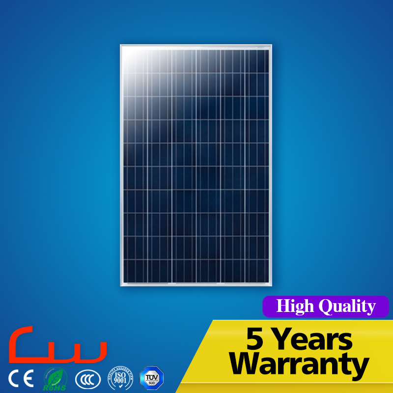 100W Power Mono and Poly Solar Panel