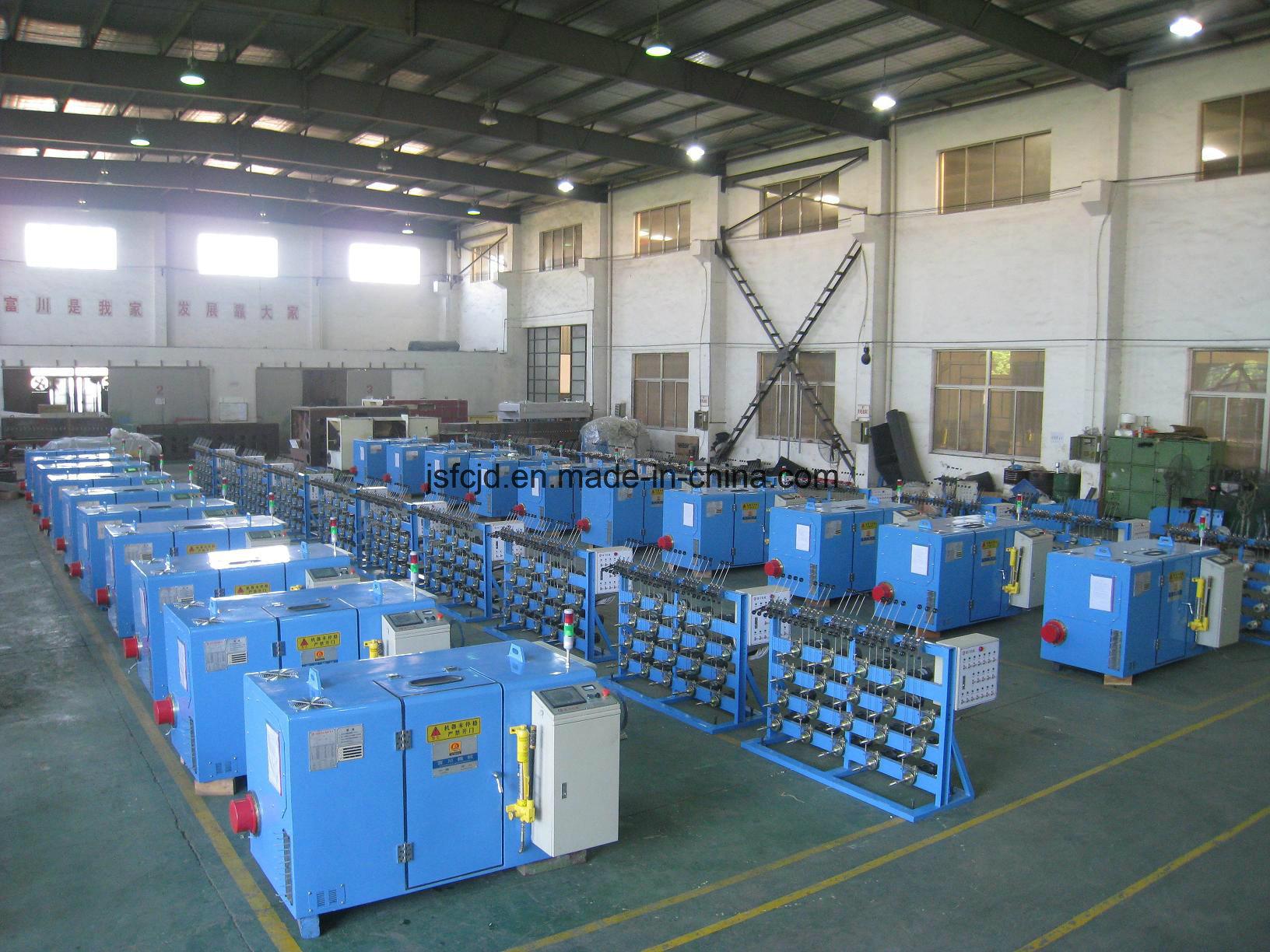Ultra-Fine Electrical Cable Wire Twisting Machine (FC-300B)