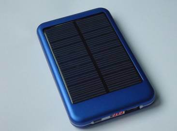 Solar Charger Sp-6000t with 5000mAh Li-Pol Power Bank