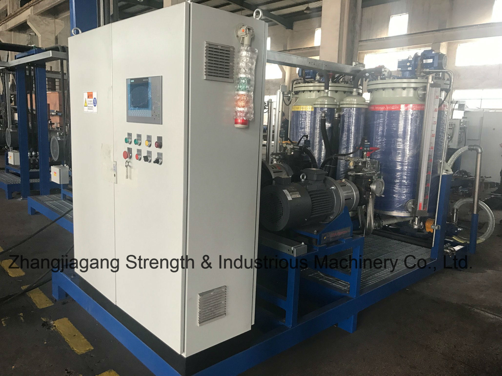 RE Series Automatic Ring-Ellipse Foaming Line