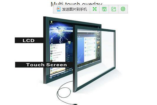 19inch Customized Projected Capacitive Touch Panel