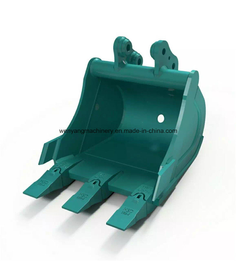 Supply China Made Good Quaity Customized Excavator Bucket with Teeth