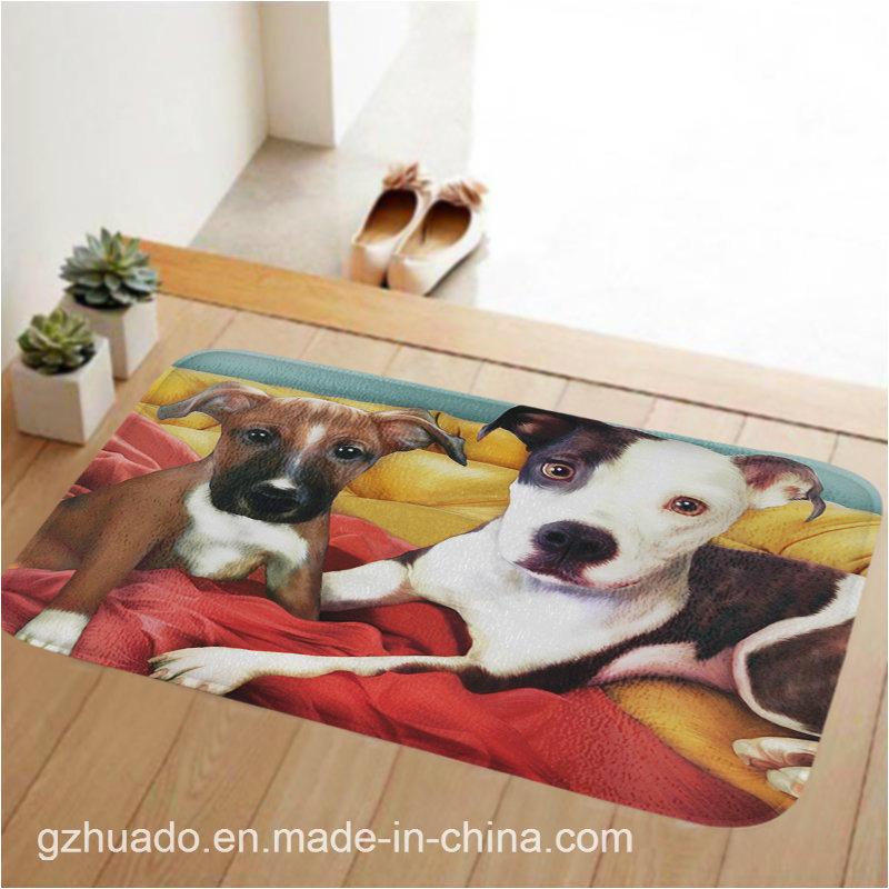 59*39cm Anti-Slip Multi Colors Thicken Big Rectangle Floor Carpets for Living Room Bathroom