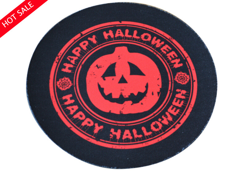 Halloween Theme Design Mouse Pad/ Cup Coaster /Cup Pad