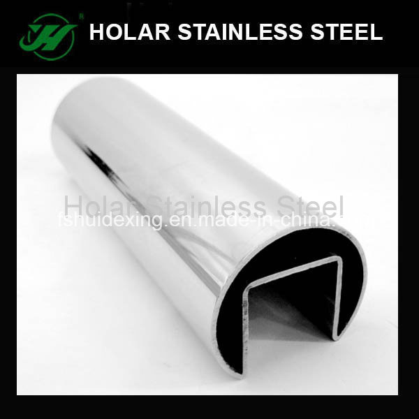 Slot Stainless Steel Tube