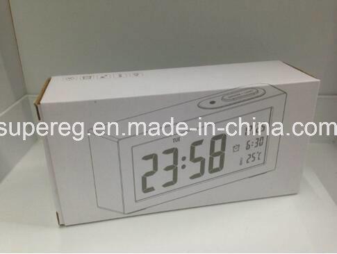 LED Large Number Minimalistic Clock with Night Light