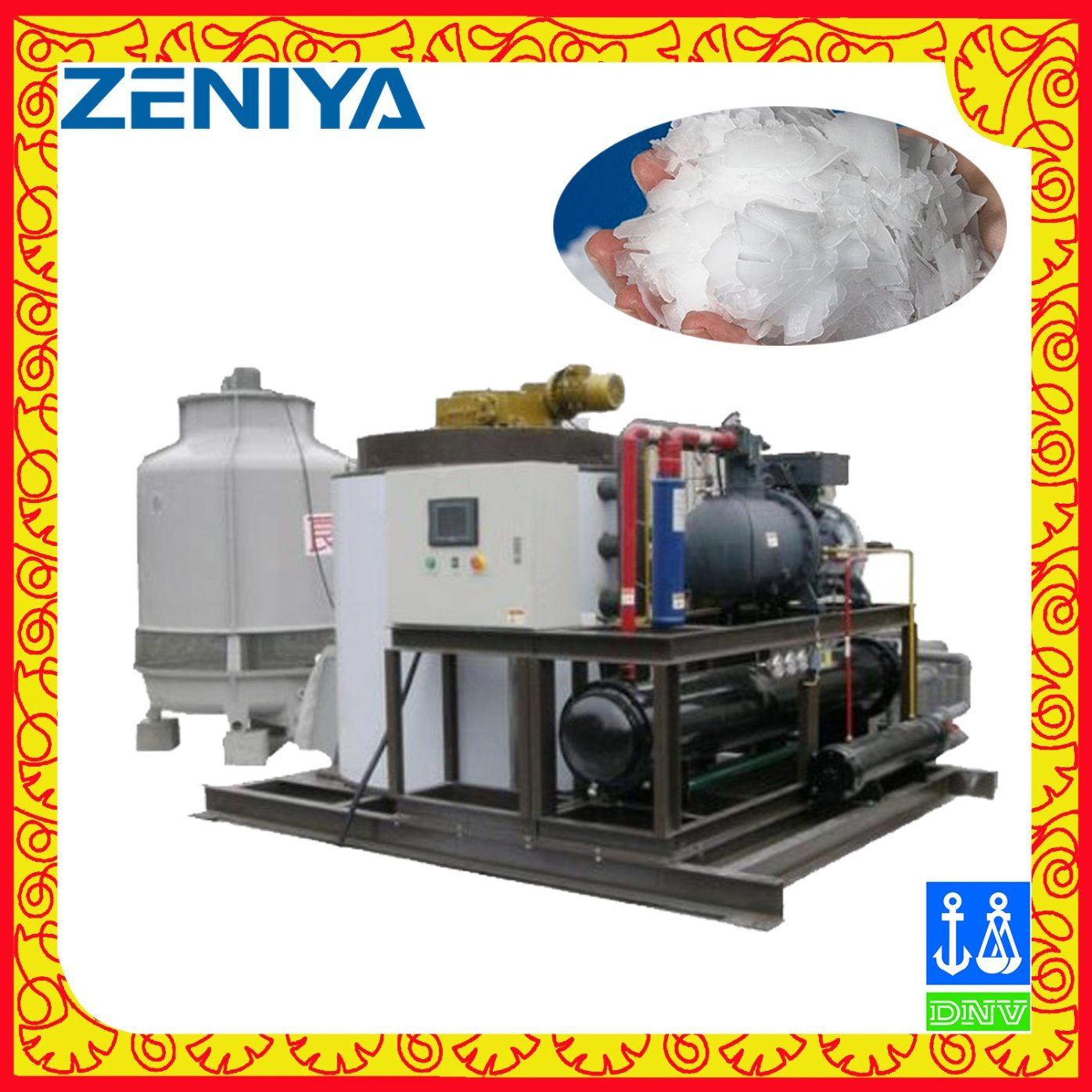 Large Flake Ice Machine for Industrial Ice Maker