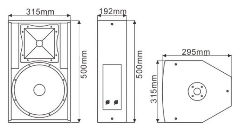 RF10 10 Inch Professional Speaker Audio (TACT)