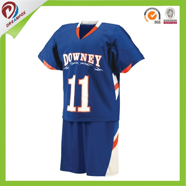 Wholesale Custom Sublimation Digital Print Team Lacrosse Jersey