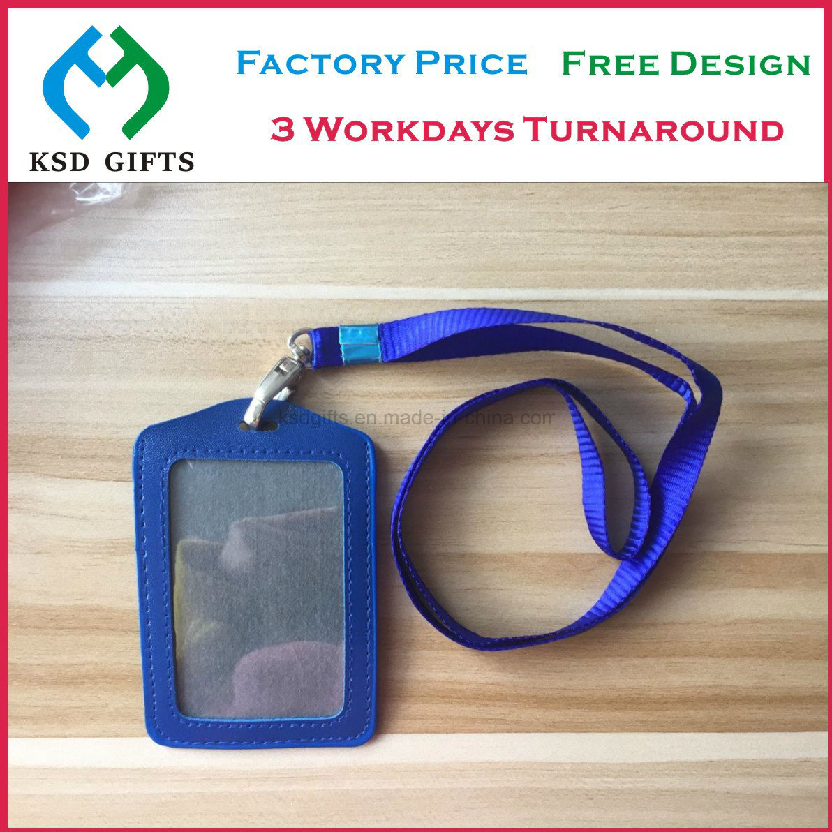 China Wholesale Directly Lanyard Factory ID Card Holder