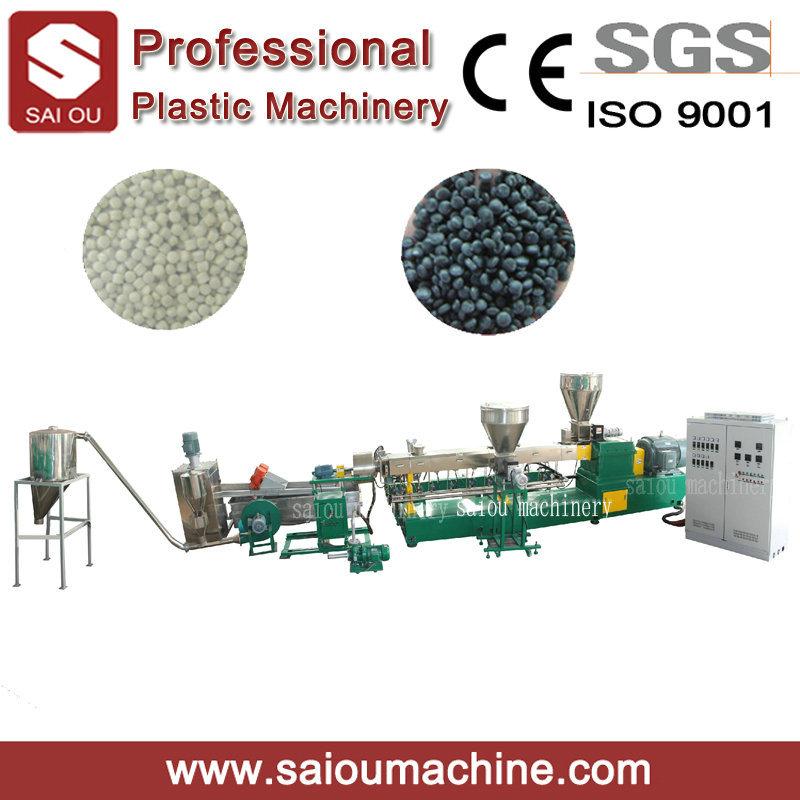 100-500kg/Hour Capacity HDPE Flake Pelletizing Extruder