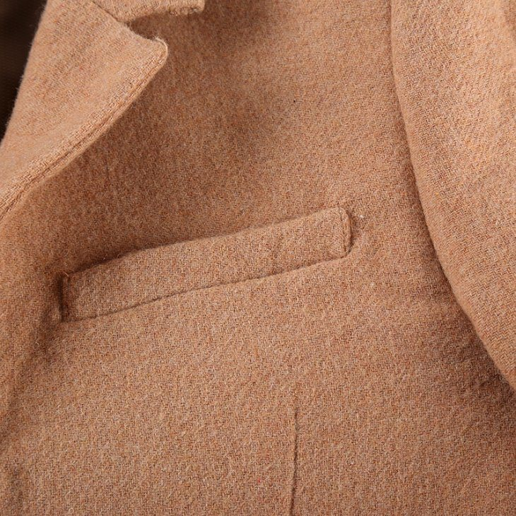 Business Suit Tweed Coat
