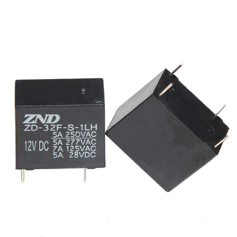 32f Power Relay Miniature Size Electromagnetic Relay 5A 4pins 0.2W