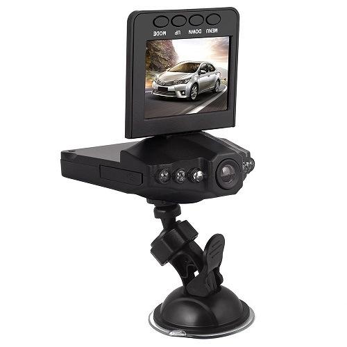 2.4 Inch LCD Portable DVR Rotatable Car Camera