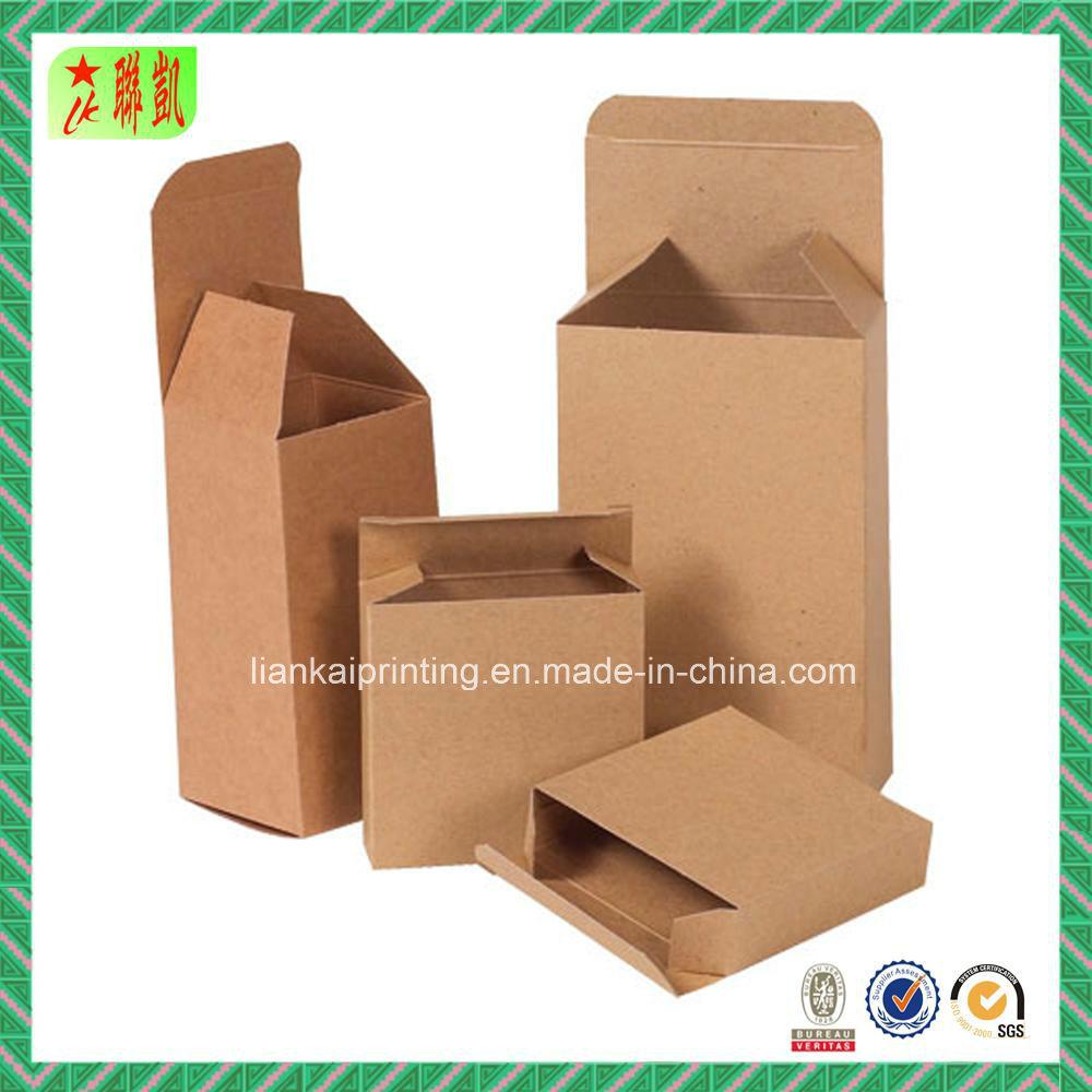 Natural Kraft Corrugated Paper Packaging Box