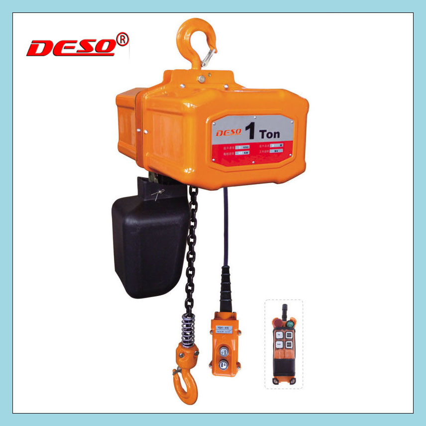 1 Ton Electric Chain Hoist for Lighting
