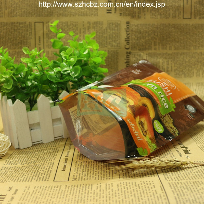Resealable Plastic Zipper Bag for Food
