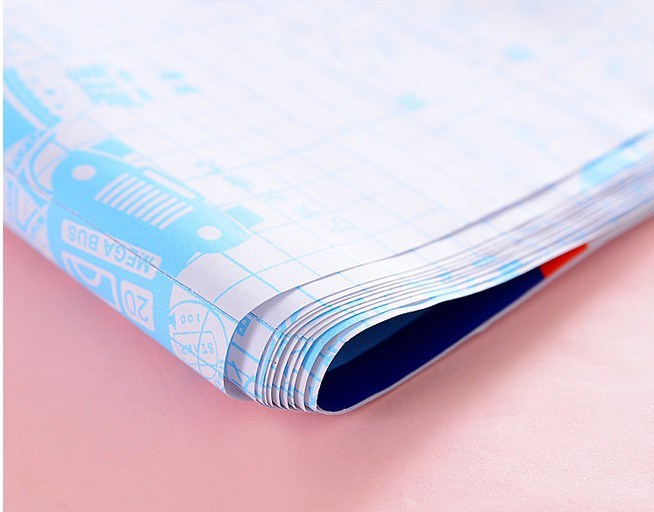 Adhesive Clear Book PVC Cover