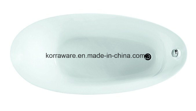 (K1218) Freestanding Acrylic Bathtubs / Massage Whirlpool Bathtubs