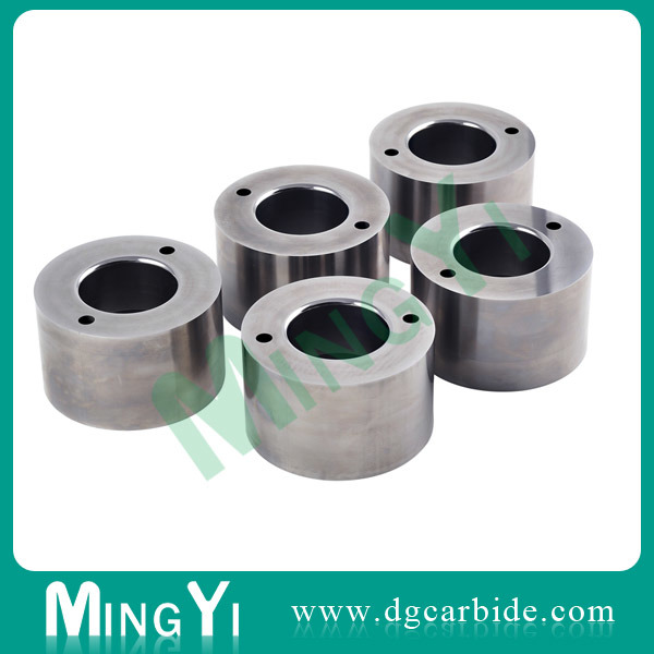 Tungsten Carbide Button Die with Metal Parts