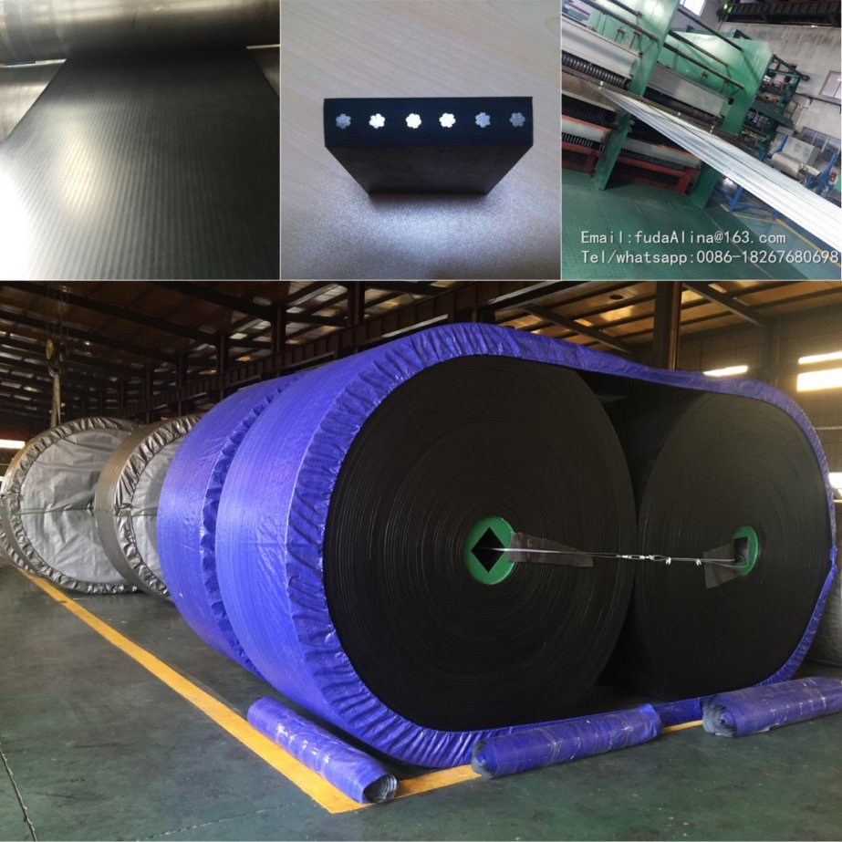 Anti Flame Anti Static Steel Cord Rubber Conveyor Belt St800
