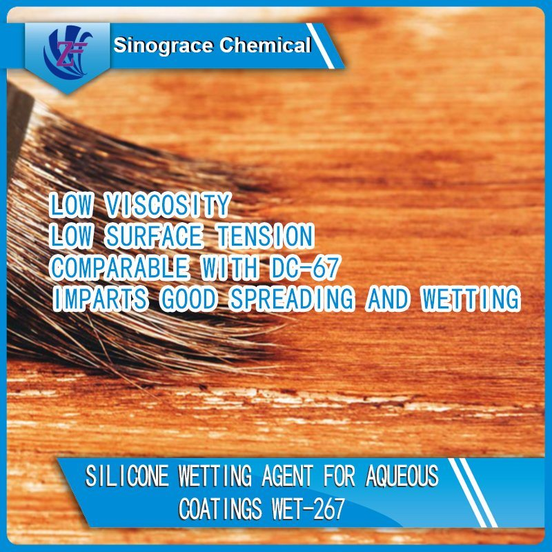Silicone Wetting Agent for Aqueous Coatings (WET-267)