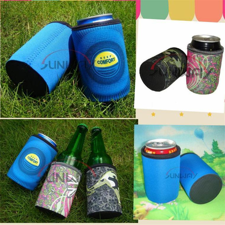Custom Printing Neoprene Beer Can Holder Bottle Koozie Stubby Cooler (BC0068)