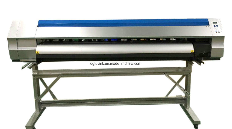 1.8m 1440dpi Eco Solvent Printing Machine Flex Banner /Vinyl /Sticker Advertising Printer with Original Dx5 Dx7 Print Head