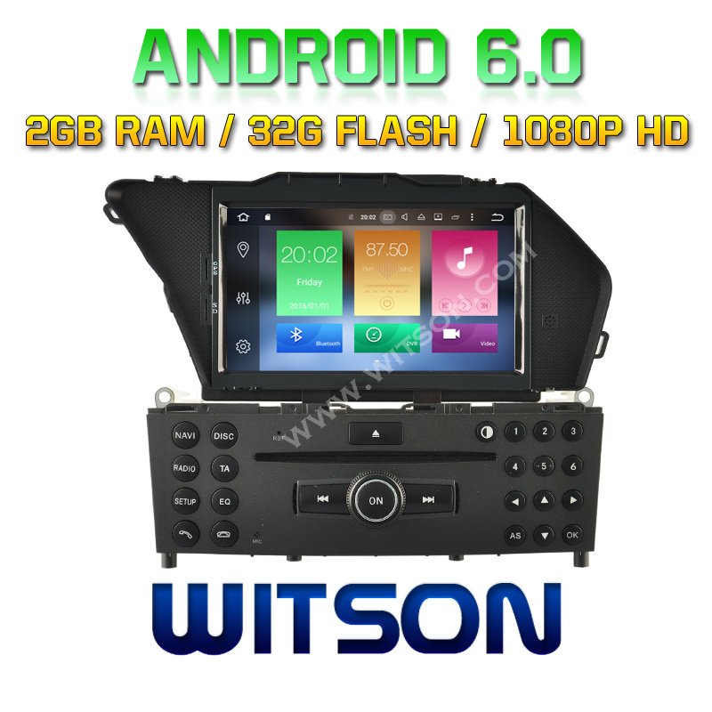Witson Octa-Core (Eight Core) Android 6.0 Car DVD for Mercedes Benz Glk 2g ROM 1080P Touch Screen 32GB ROM (B5708)